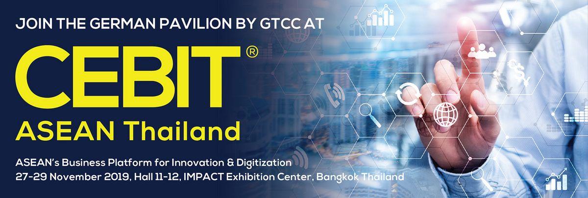 German Pavilion by GTCC at CEBIT ASEAN Thailand